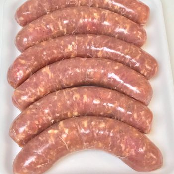 Vacuum Sealed Fresh Sausage's